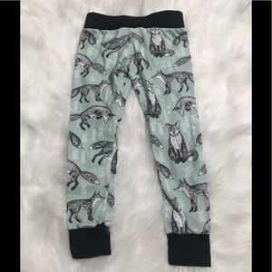 Other - 3/4T Organic Cotton Seafoam Fox Leggings